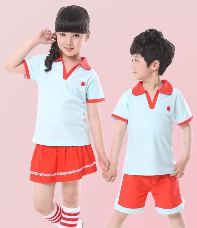 áo đồng phục lớp mầm non