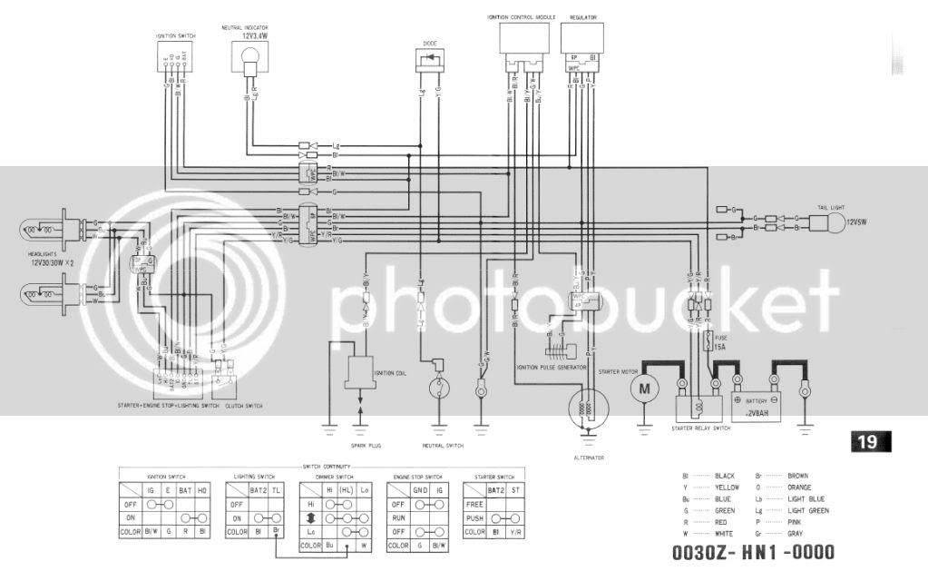 35 2001 Honda 400ex Wiring Diagram