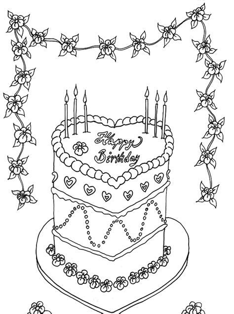 Birthday Cake Drawing Step By Step at GetDrawings.com