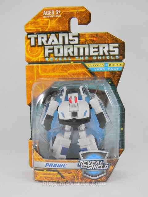 Transformers Prowl Reveal the Shields Legends - caja