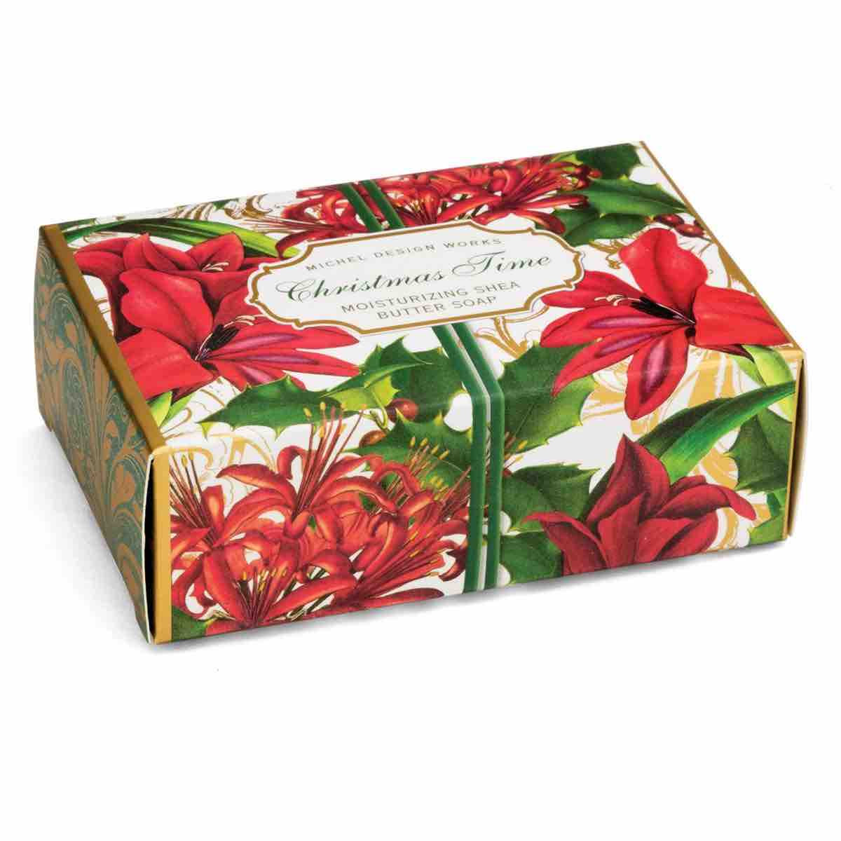 Michel Design Works Boxed Soap Bar Christmas Time Wish Kitchen