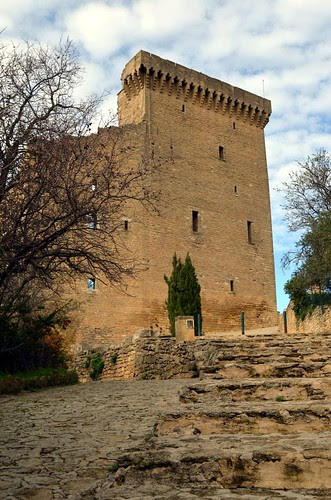 The castle of Chateauneuf