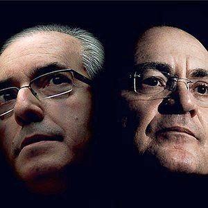Eduardo Cunha e Renan Calheiros (Foto: ÉPOCA)
