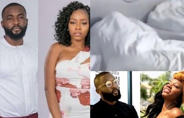 BBNaija: Khafi and Gedoni caught having sex (video)