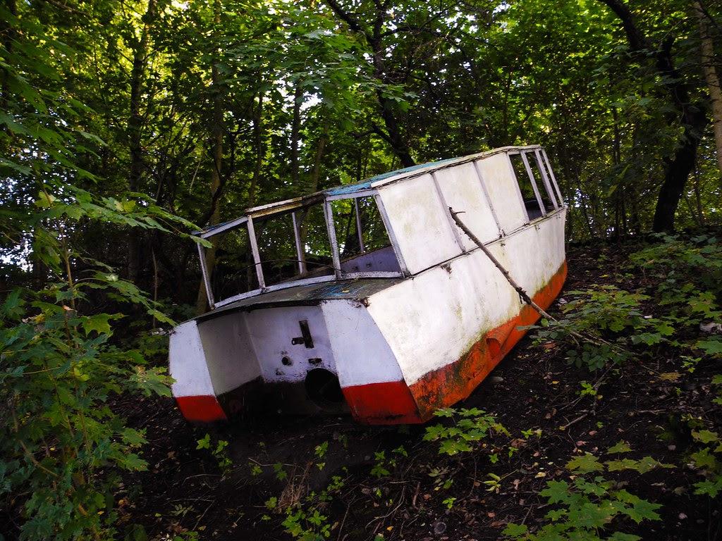 Barca abandonada