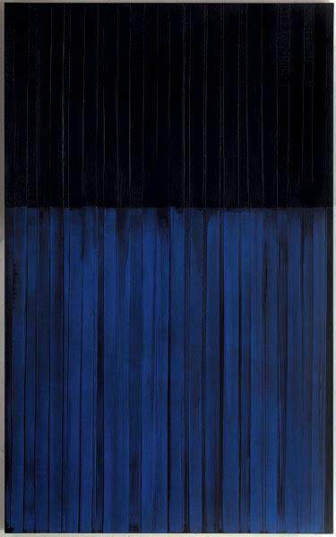 rerylikes:  Pierre Soulages.Peinture 222x137cm, 3 février 1990. Huile sur toile