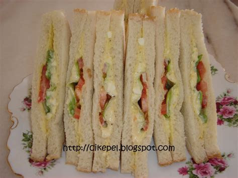 keluarga resepi sandwich telur ulangan