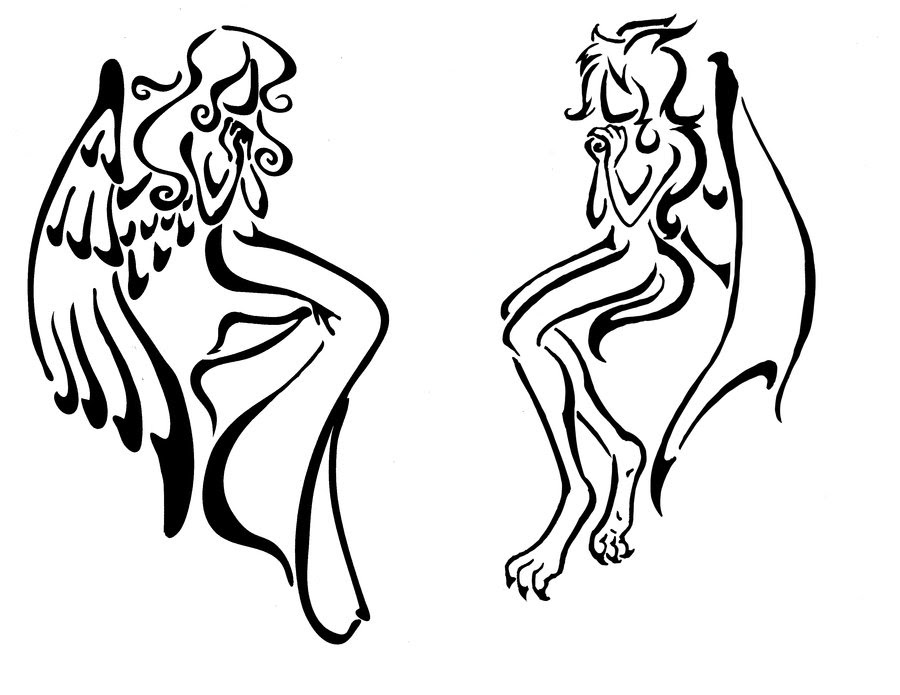 Demon Tattoo Drawing At Getdrawingscom Free For Personal Use