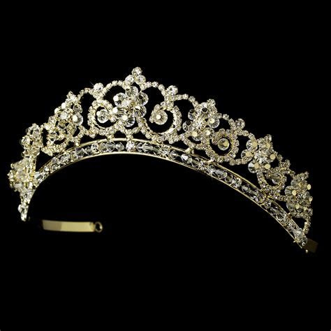 Crystal & Rhinestone Bridal Tiara HP 434