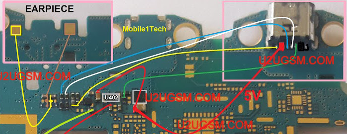 Samsung Galaxy Tab 3 T111 Speaker Solution Jumper Problem Ways Earpeace