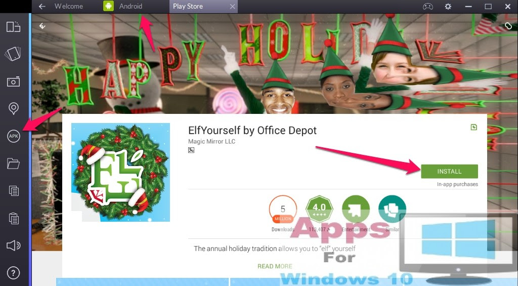 ElfYourself by Office Depot for PC Windows  Mac  Apps For Windows 10