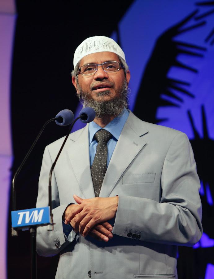 English: Dr Zakir Naik