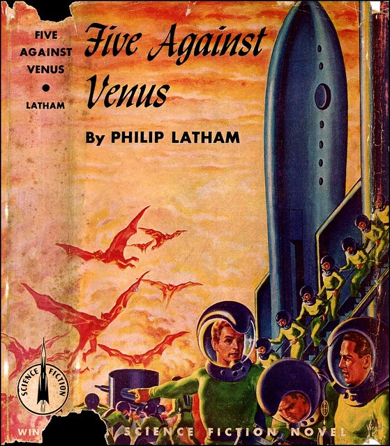 Virgil Finlay - Five Against Venus, Cover