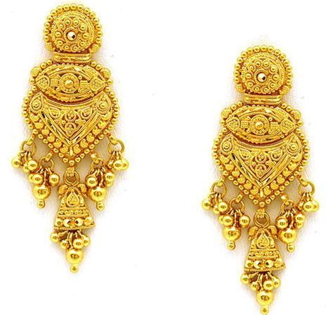 The Wedding Collections: Wedding Gold Earrings