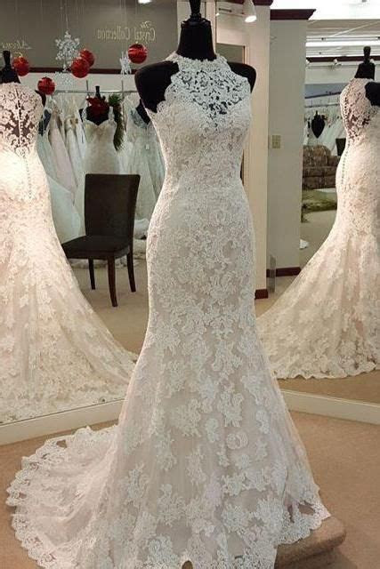 Wedding dresses,high neck wedding dresses, bridal gown