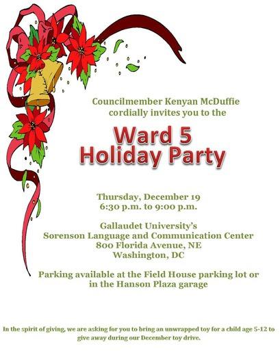 Ward 5 Holiday Party