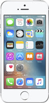 Apple - Geek Squad Refurbished Iphone Se With 16gb Memory Cell Phone - Silver (sprint)