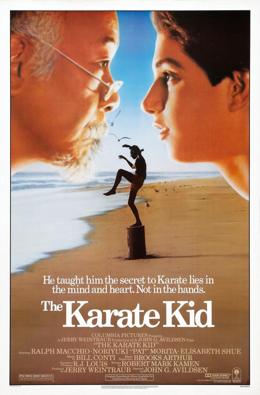Resultado de imagem para The Karate Kid 1984 posters