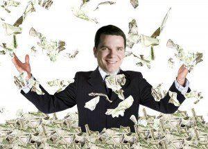 ivan dinheiro chuva