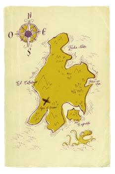 """""""La isla del tesoro: El mapa del tesoro"""""""