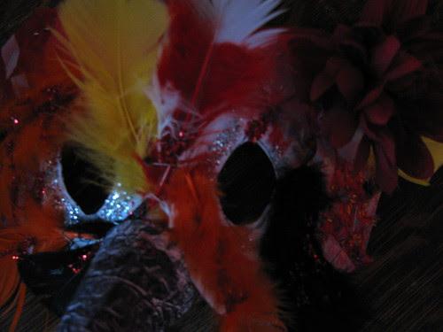 Fire-Dance Mask