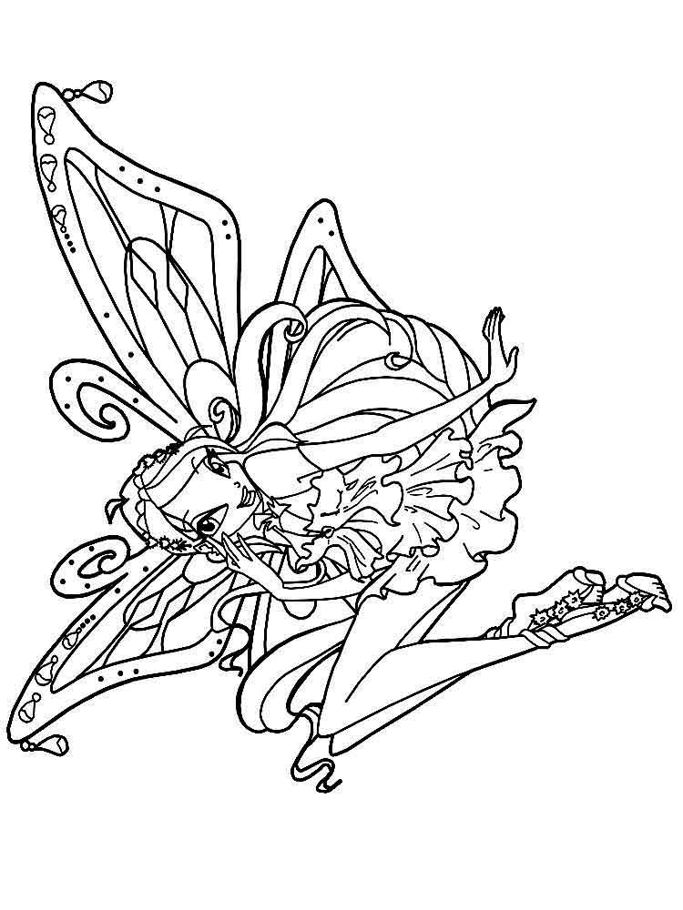 Bloom Winx Coloring Pages Download And Print Bloom Winx Coloring Pages