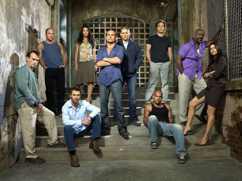PRISON BREAK Season 3 group photo.