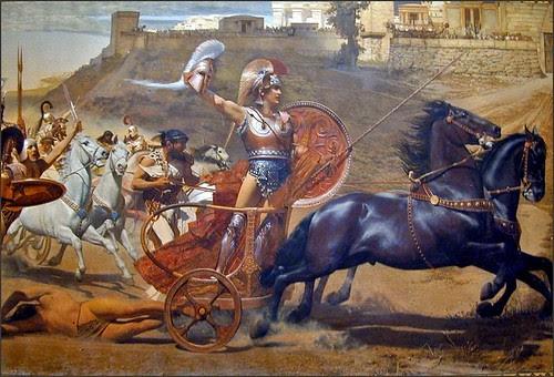Peinture murale de L'Achilleion (Corfou)