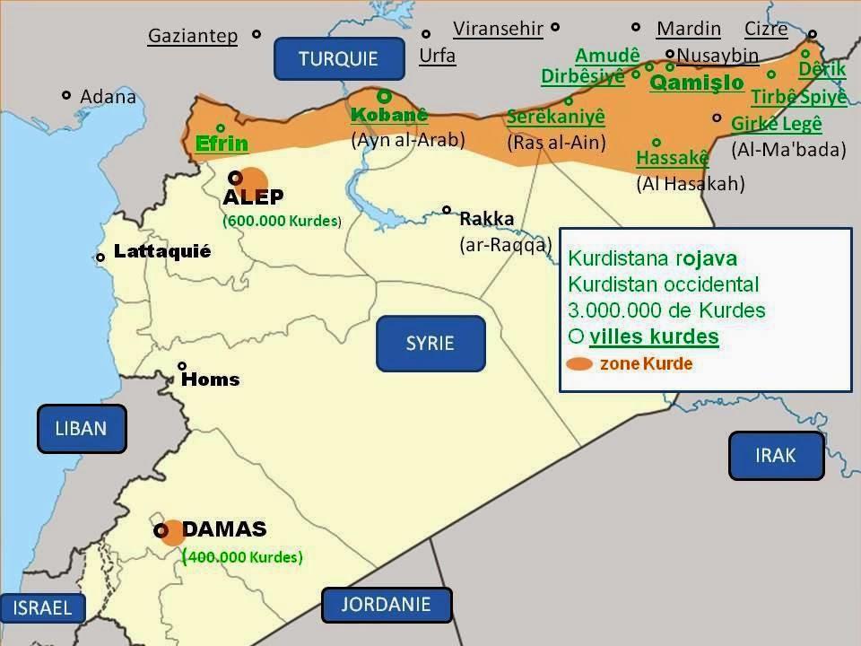 Les intérêts d'Ankara et de l'EIIL (Daesh) convergent