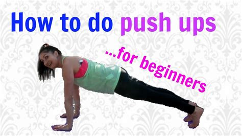push ups step  step guide  correct form