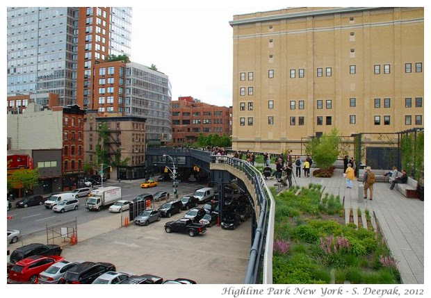 Highline park New York - S. Deepak, 2012