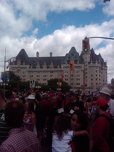 In Ottawa on Canada Day