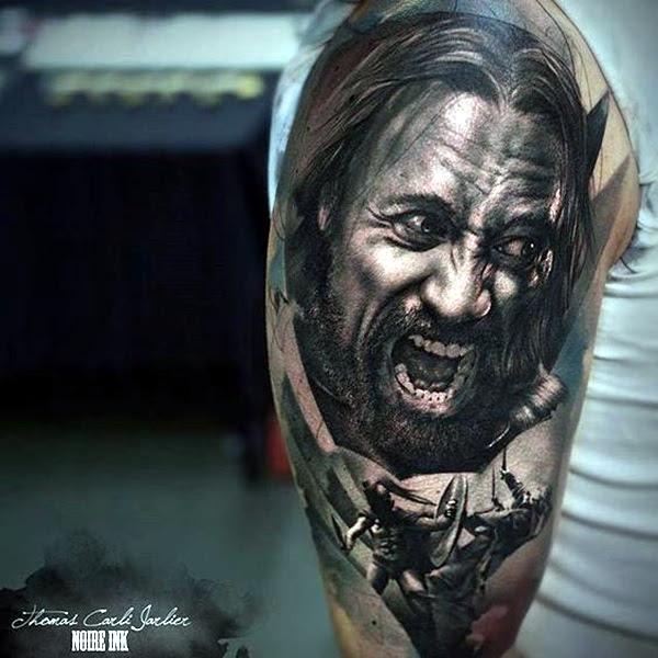 Valiant Gladiator Tattoo Designs (4)