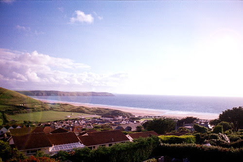 View over Woolacombe