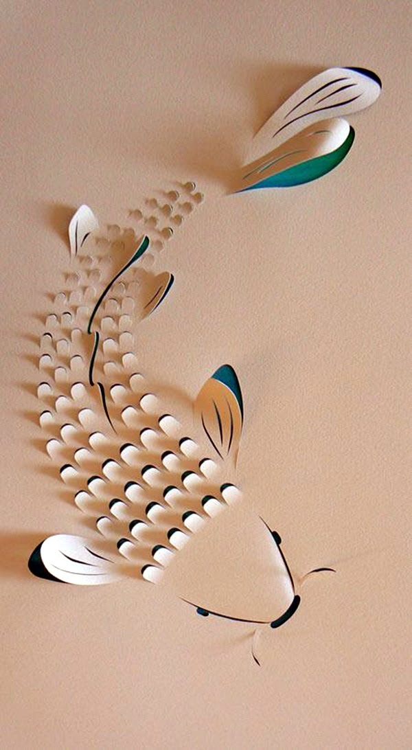 Extremely Creative Examples of Kirigami Art A Hobby to Addapt (12)