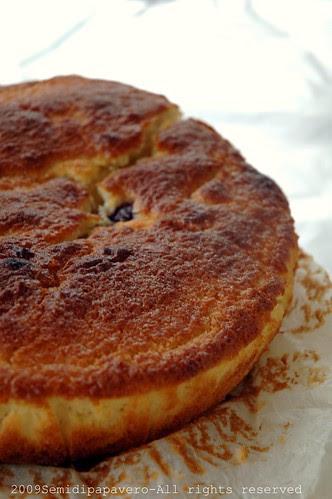 Buttermilk cherry cake