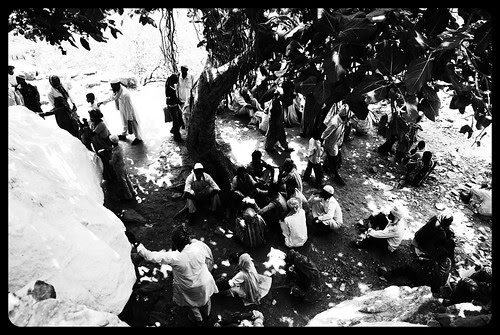 The Devotees of Meeran Sab Ki Dargah Taragadh Ajmer by firoze shakir photographerno1