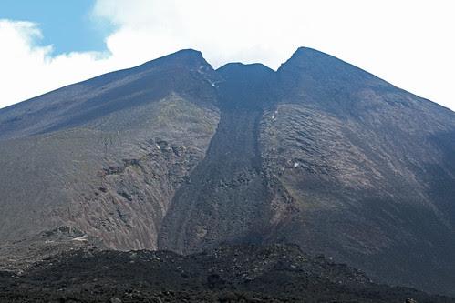 Cône du volcan Pacaya, 04 novembre 2013