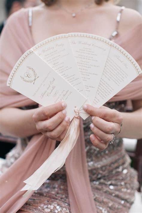 Best 25  Fan wedding programs ideas on Pinterest   Diy