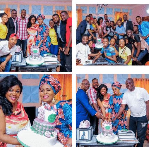 Eniola Ajao Unveils Her Twin Sister At Birthday Celebration Photos