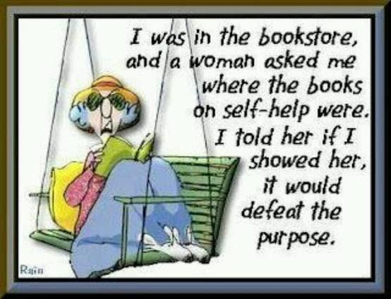 Book humor @ruth galella- this one is for you cutie.