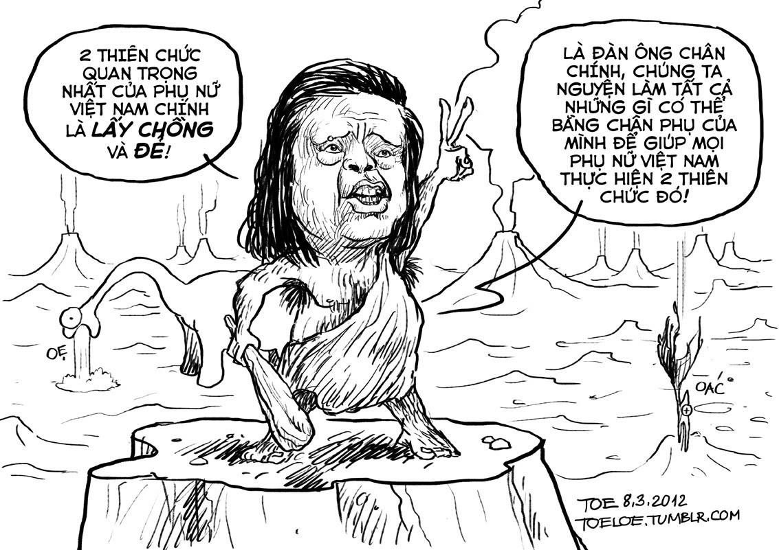 Cựu bộ trưởng Lê Doãn Hợp: Hai thiên thức quan trọng nhất của phụ nữ Việt Nam (Vietnamnet) Đọc thêm: Đi triệt sản sẽ được thưởng 1 triệu đồng (Dantri)