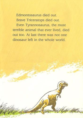 Lonely Tyrannosaurus