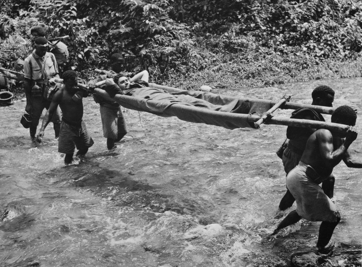 Os povos indígenas de Papua Nova Guiné salvaram centenas de soldados feridos na Segunda Guerra Mundial 06