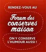 forum des conserves maison