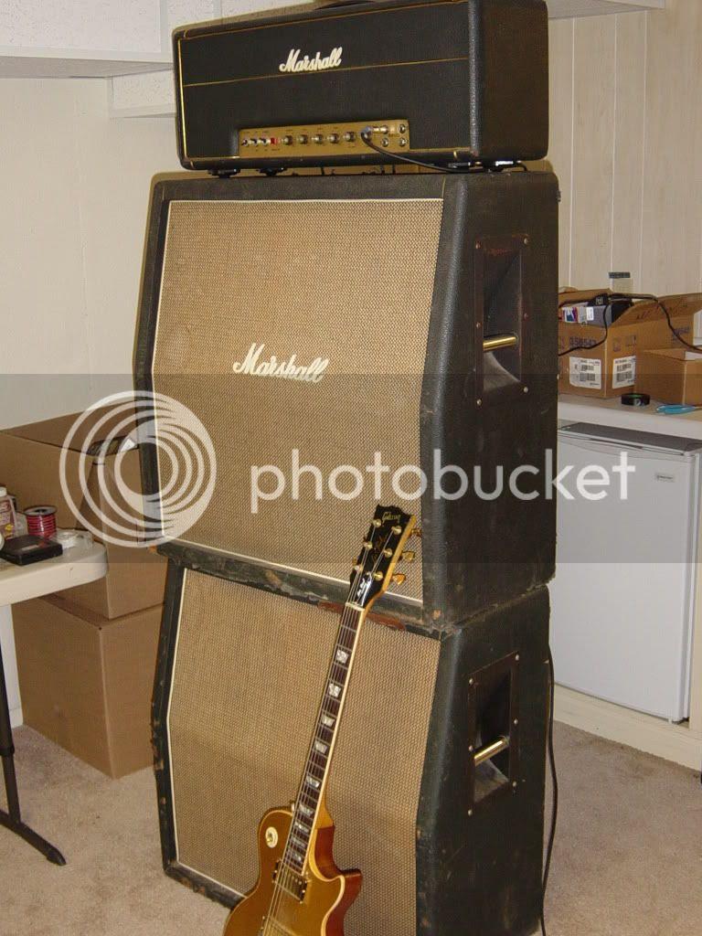Marshall 1969 Plexi Stack