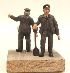 7mm scale locomotive fireman