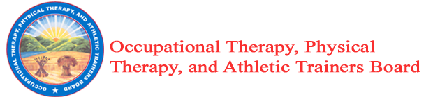 Ohio Occupational Therapy, Physical Therapy and Athletic Trainers Board