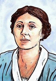 Alice Masaryková - kresba