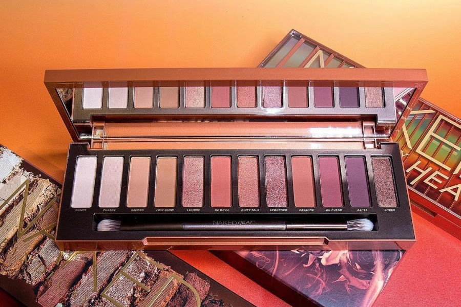 Urban Decay Naked Heat Palette Now Available at Sephora!